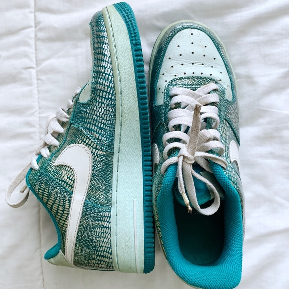 Nike Air Force 1 Sneakers Radiant Emerald 2007